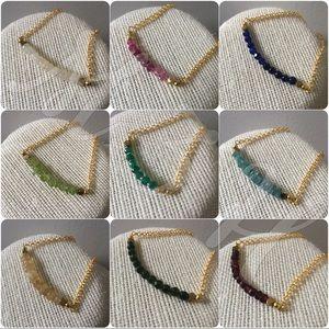 Jewelry - Gemstone Birthstone Birthday gift bracelet 🎁